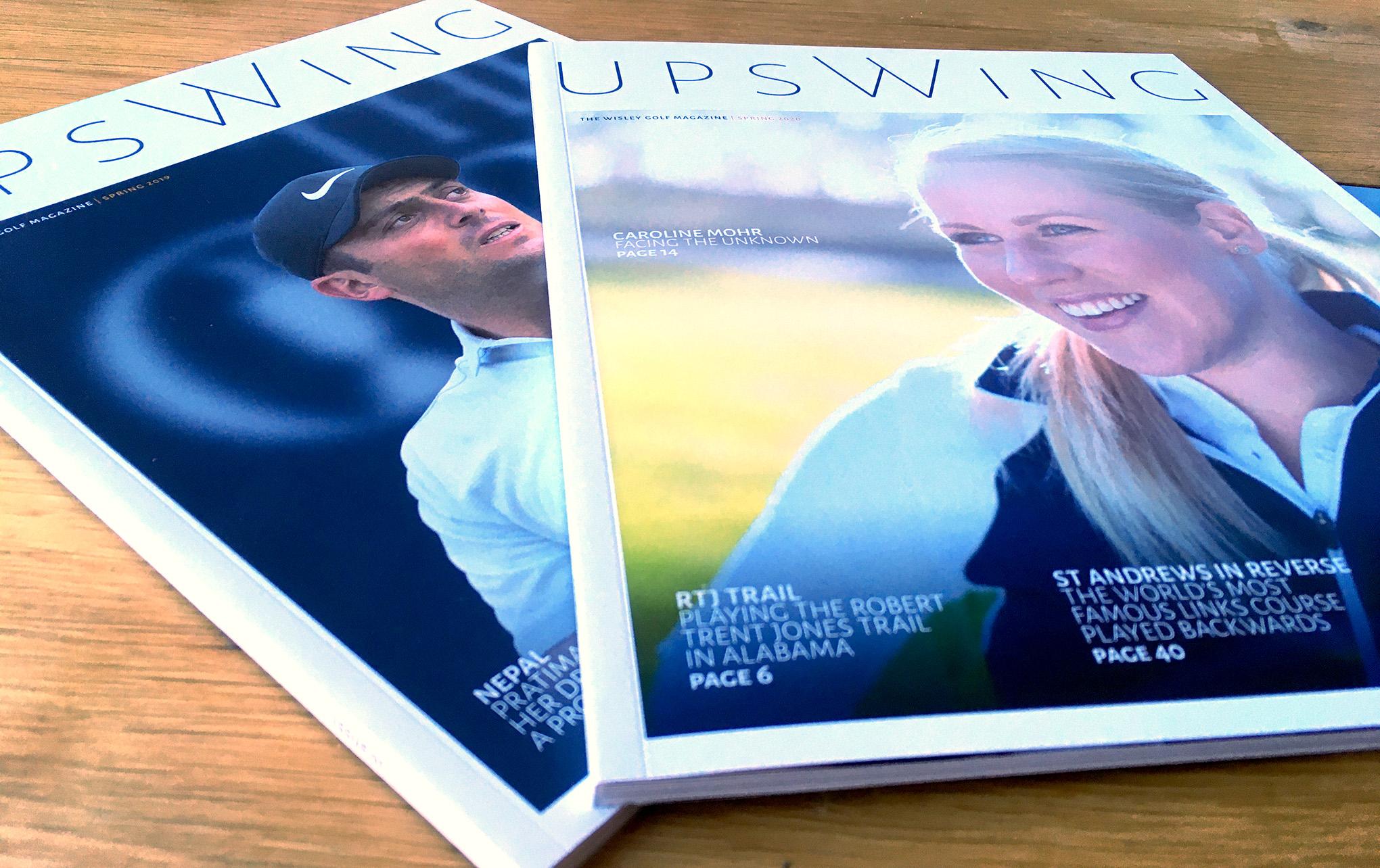 Upswing Golf Magazine Spring 2019